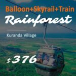 Train and Skyrail and Balloon